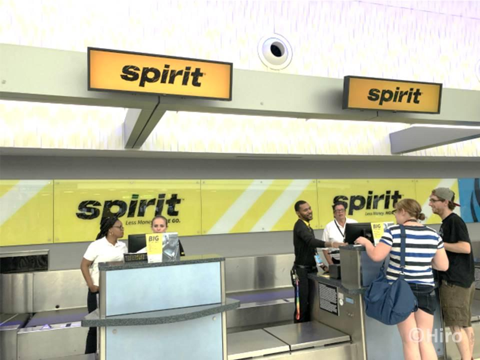 スピリット航空(エアライン)が評判最低なのは手荷物が厳しいから?
