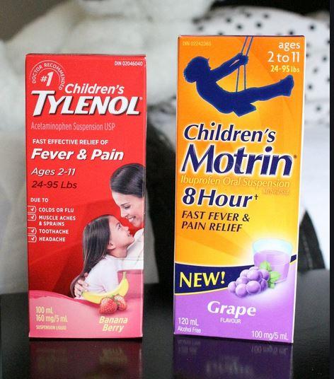 タイレノールとイブプロフェンのどちらを使うの?