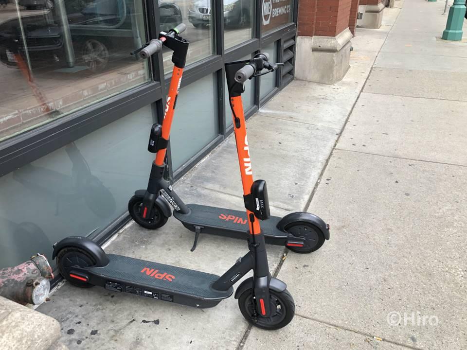 ダウンタウン内を車なしで移動する手段をご紹介します