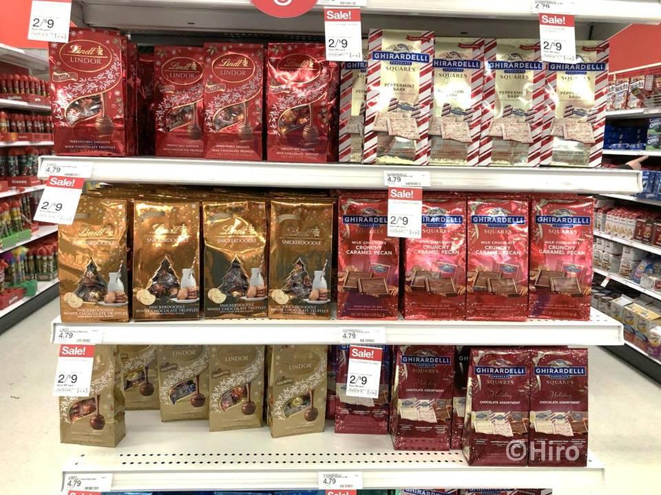 【アメリカばらまき土産!】スーパーで買えるお菓子・クリスマス編