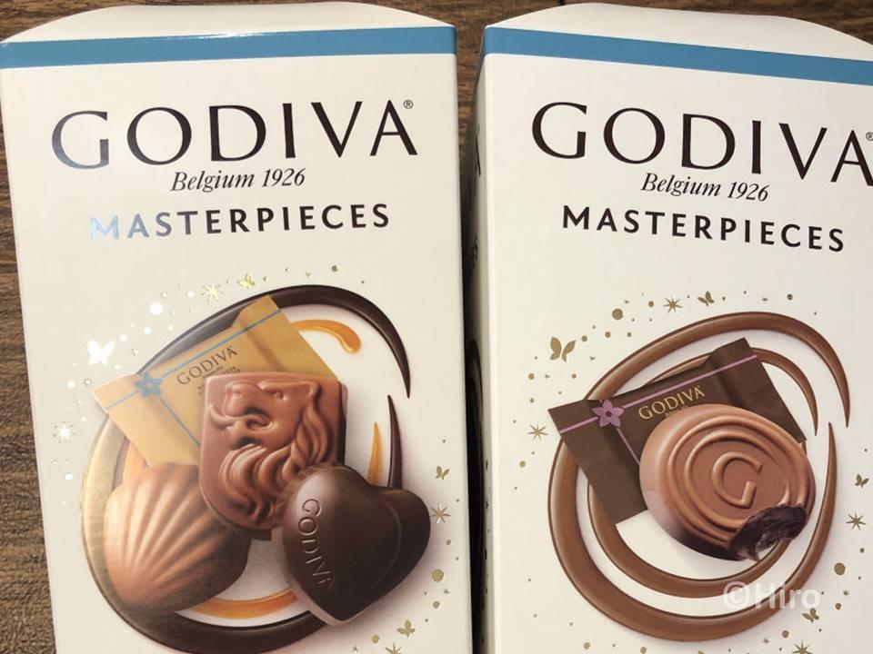 【アメリカお土産!】チョコレート「ゴディバ(GODIVA)」はアリ?