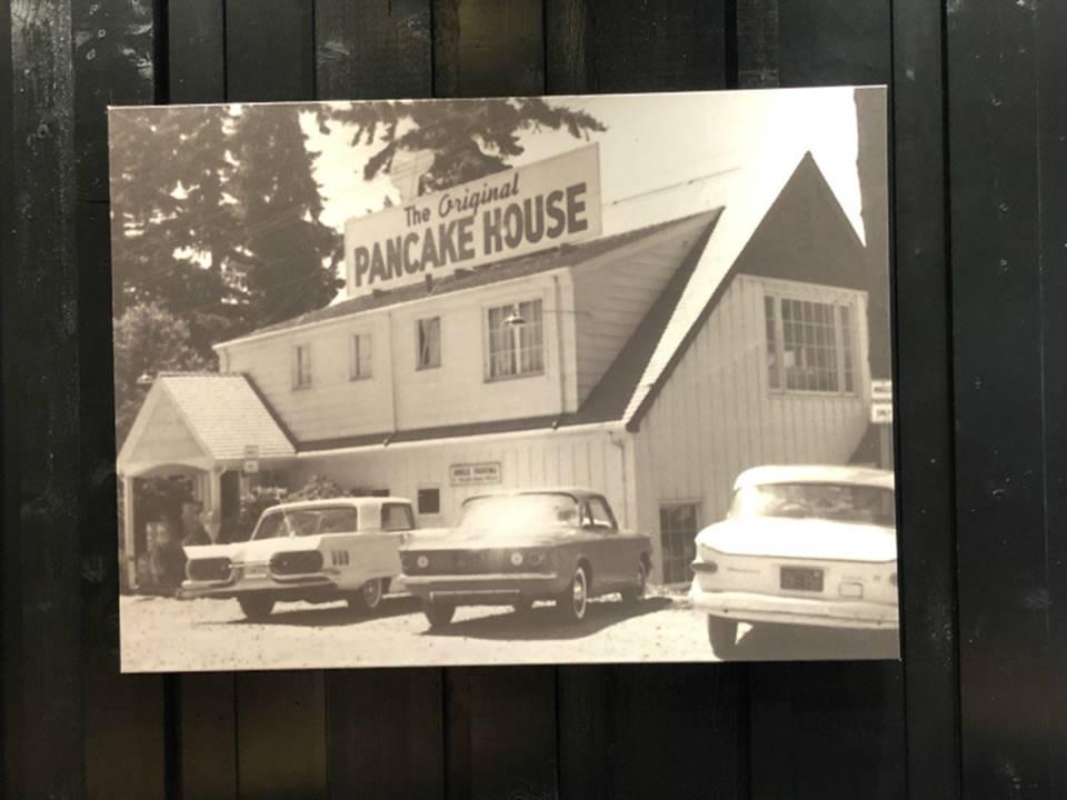 オリジナルパンケーキハウスアメリカっぽい?