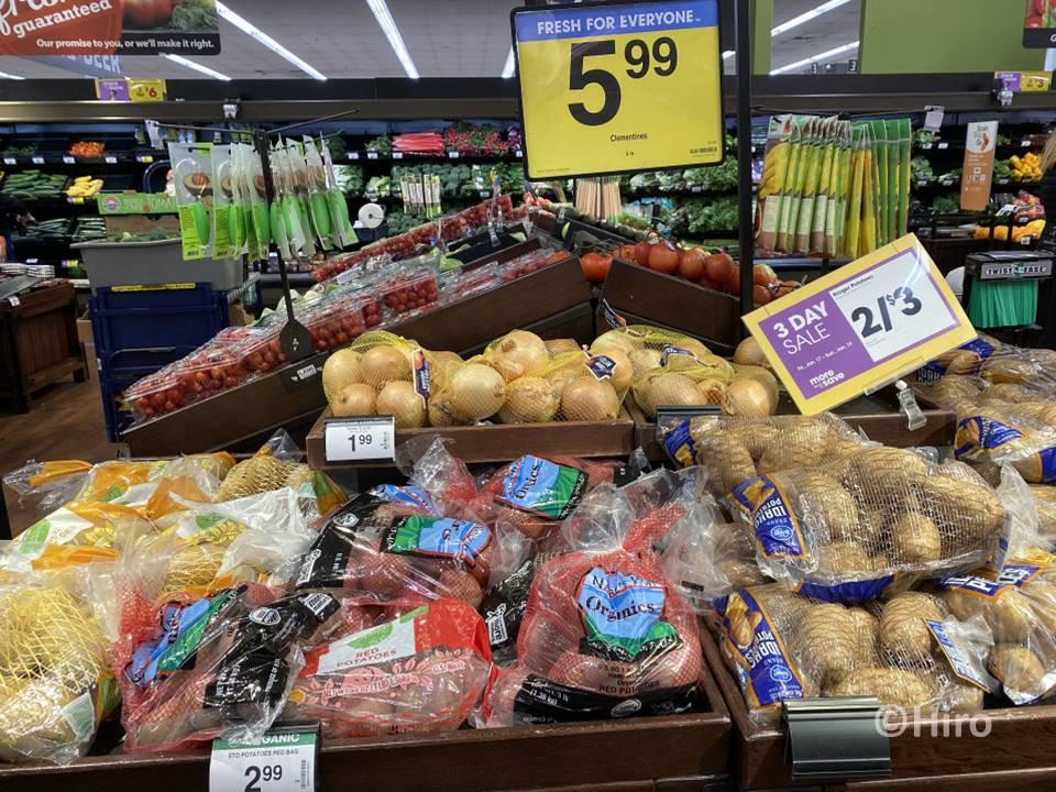 アメリカのスーパーはどうやってセール内容を知ることができるか?
