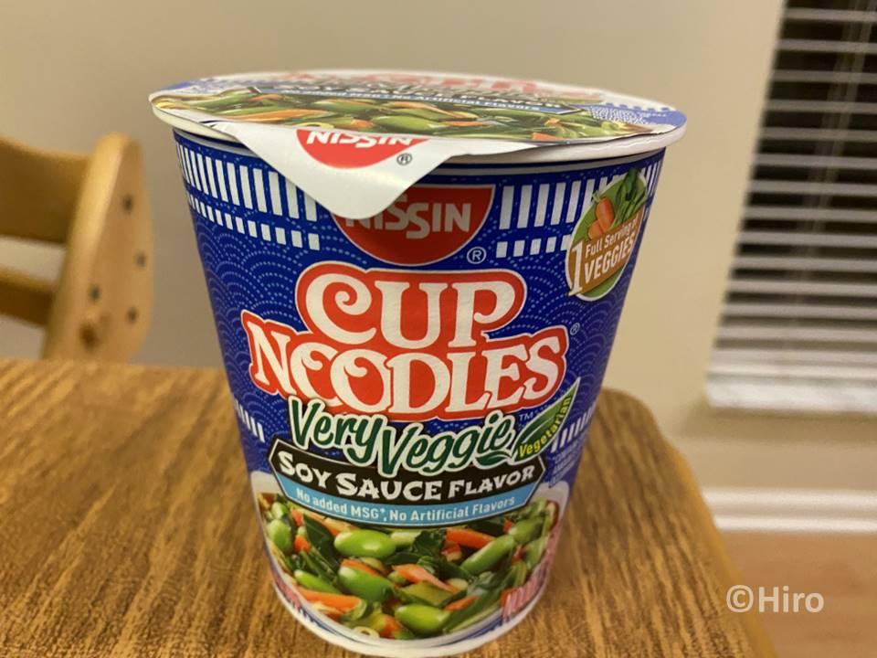【味まずい?】アメリカ製のカップヌードルを食べてみた感想