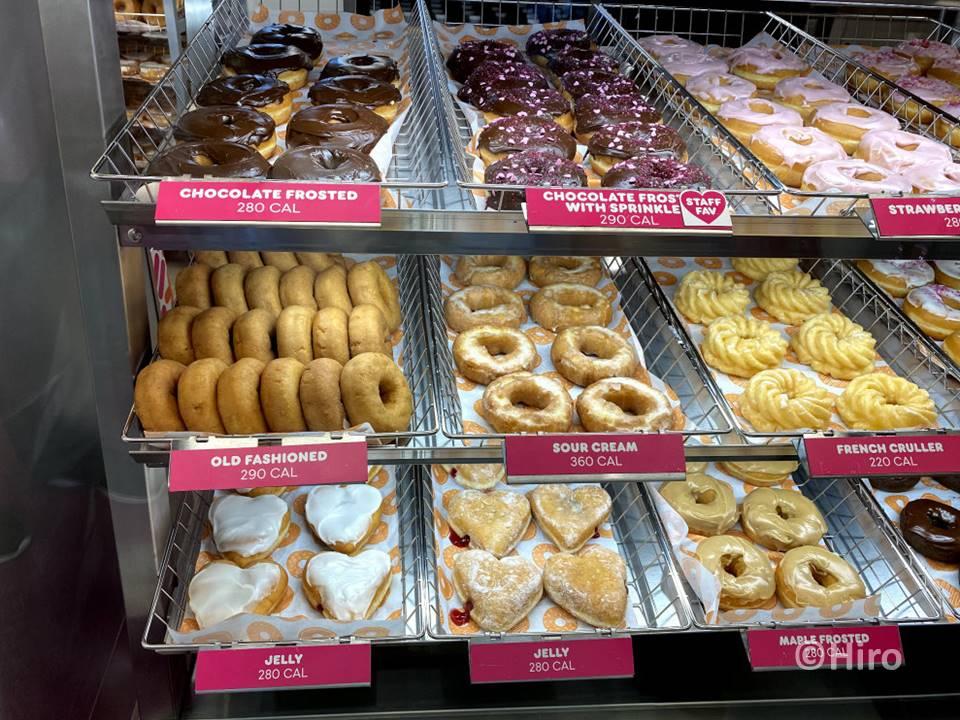 アメリカのダンキン・ドーナツの種類や朝食メニュー