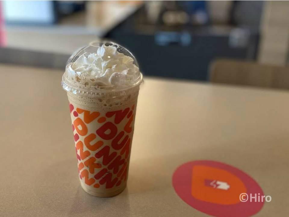 【アメリカ発】ダンキンドーナツ(Dunkin')で2ドルのラテとカプチーノ